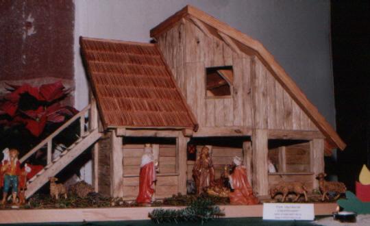 mein sch nstes hobby weihnachtskrippen selber bauen schw bische altarkrippe. Black Bedroom Furniture Sets. Home Design Ideas